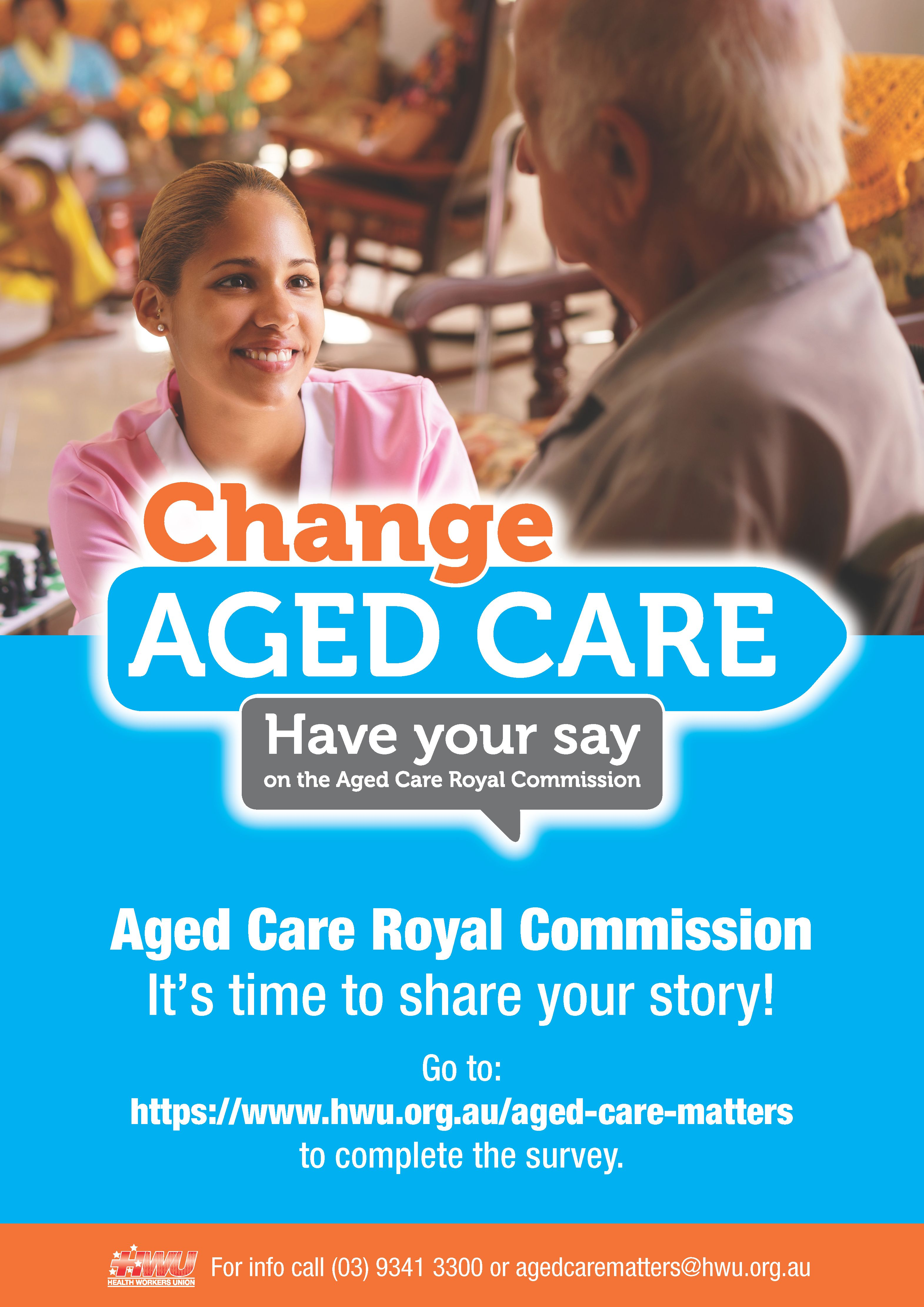 Aged Care Matters Poster PNG