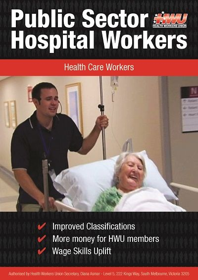Health Care Workers Booklet Cover