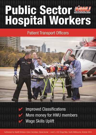 Patient Transport Officer Booklet Cover