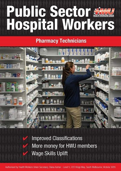 Pharmacy Tech Front Cover
