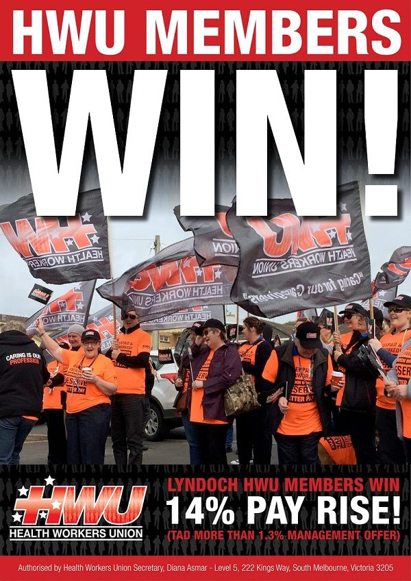 Lyndoch workers win