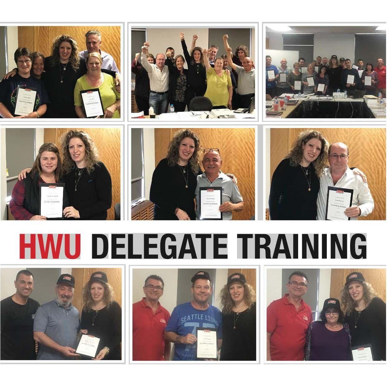 Delegate Training Collage Diana Asmar Nick Katsis