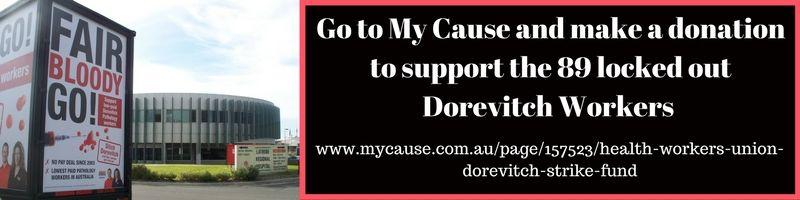 Dorevitch Pathology My Cause Strike Fund