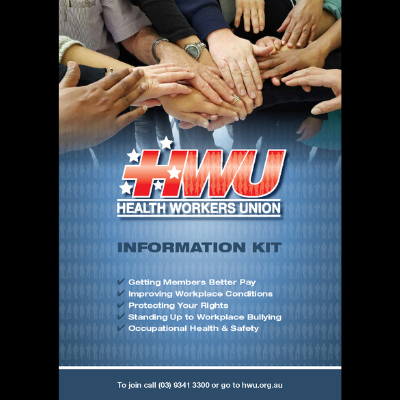 HWU Info Kit Front Cover