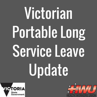 Victorian Long Service Leave Update