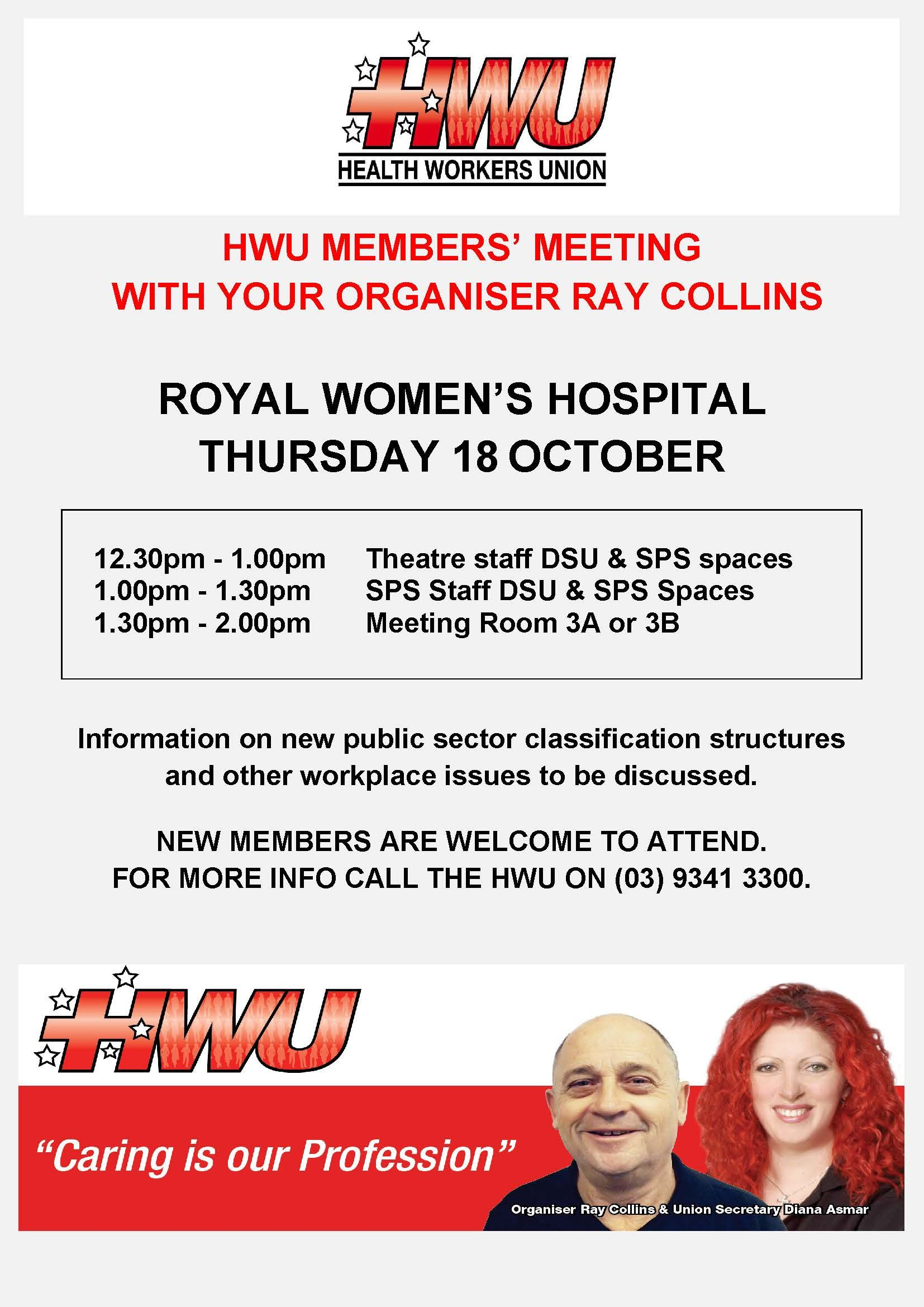 Royal Womens Member Meeting October 2018