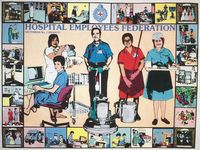 Hospital Employees Federation Poster