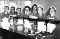 Hospital Employees federation - cafeteria historical photo